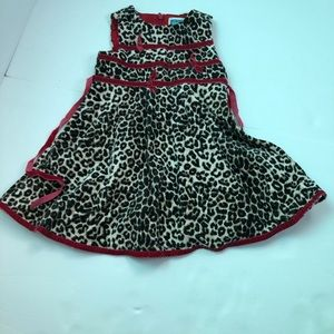 Children's place Girls leopard Dress!